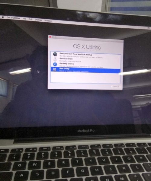 fix macbook