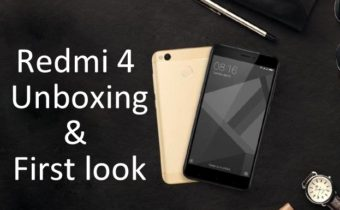 Redmi 4 Unboxing