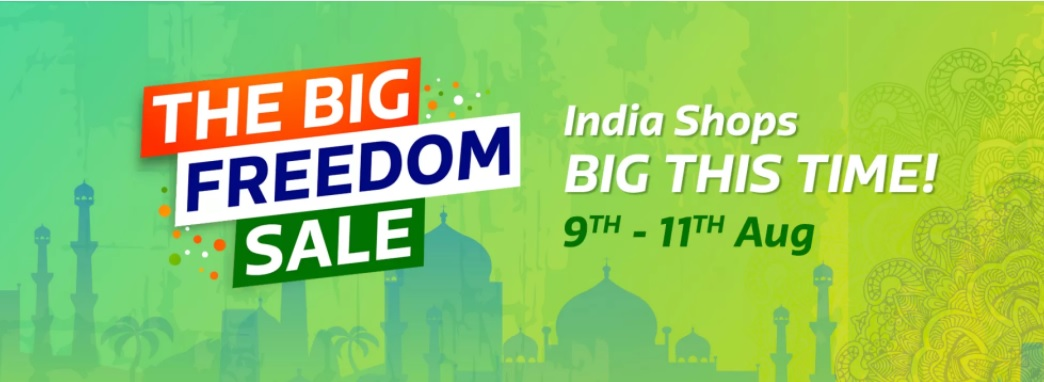 flipkart BIG FREEDOM SALE