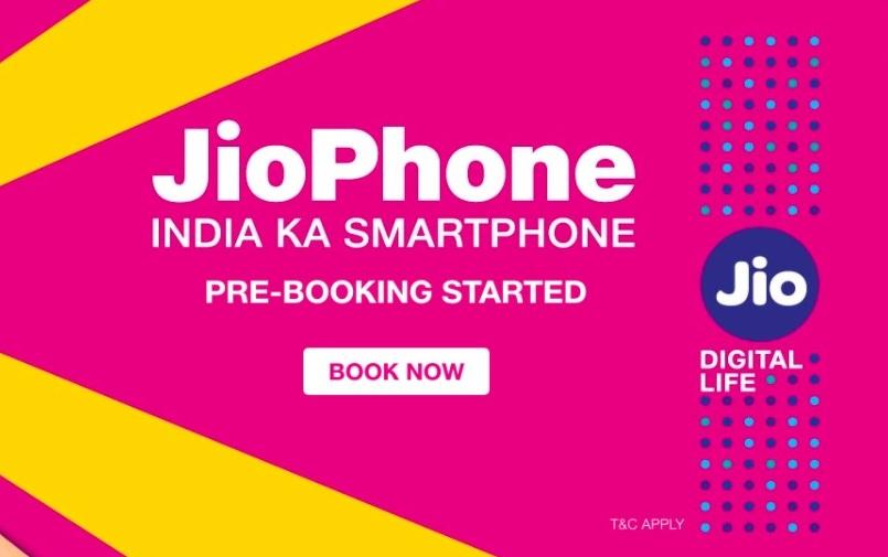 Track Jio Phone