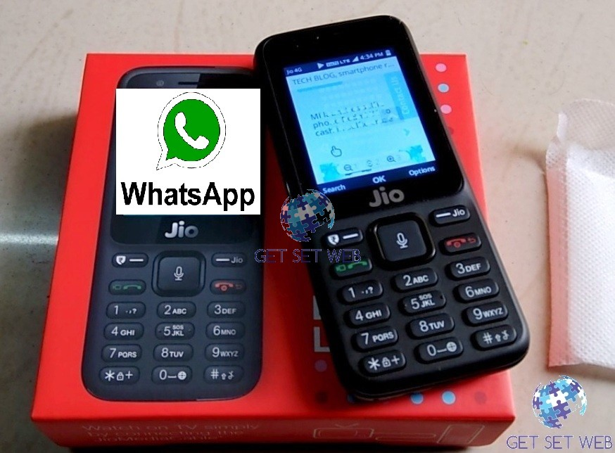 How to run whatsapp on jio phone