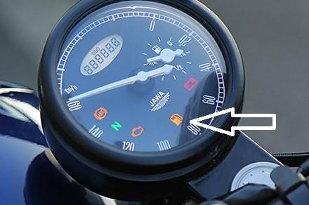 jawa fuel meter issue